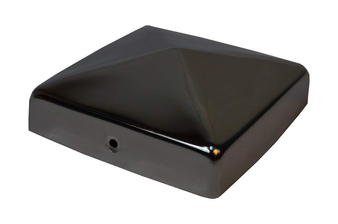 Pfostenkappe 9x9 cm verzinkt Pyramide Abdeckkappe Pfosten Abdeckung 91x91 mm