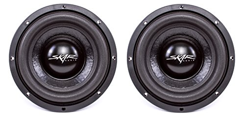 (2) Skar Audio IX-8 D2 8″ 300W Max Power Dual 2 Subwoofer