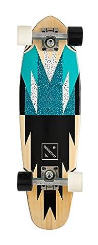 GoldCoast Skateboard - Complete Longboard - Rosette Cruiser 27