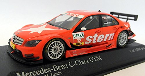 Mercedes C-Klasse DTM 08, No.17, Team Stern, DTM Saison, 2009, Modellauto, Fertigmodell, Minichamps 1:43