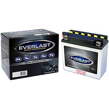 Amazon.com: Yuasa yuam2254 a 12 N5.5 – 4 A Batería, Batería ...
