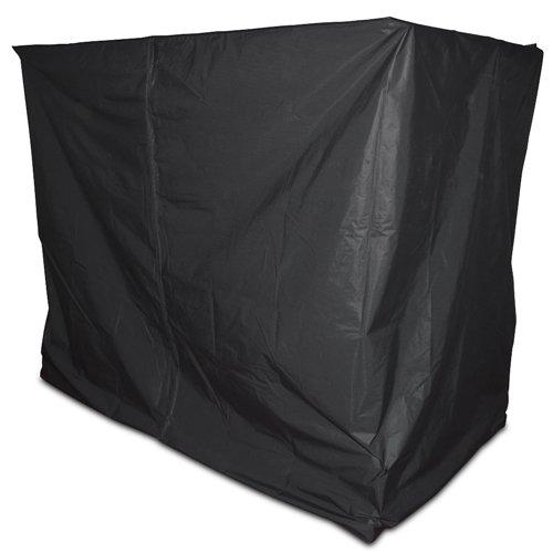 Abdeckhaube Schutzhülle für Hollywoodschaukel in schwarz 217x177x220cm