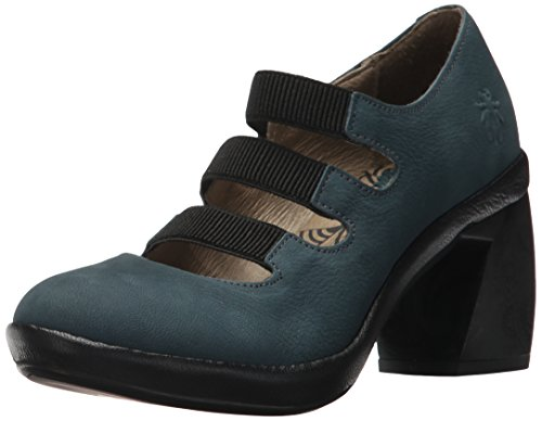 Fly London Women's Cete759fly Pump Reef/Black Cupido/Mousse cheapest b1iDta
