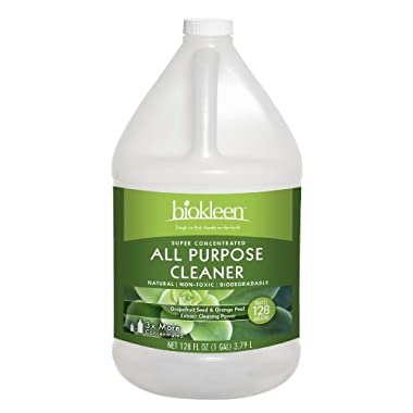 Biokleen All Purpose Cleaner Concentrate, 128 Ounces (Pack of 4)