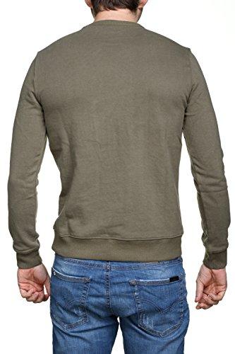 shirt Homme Kaporal Kaporal Vert Homme Vert DuolSweat shirt DuolSweat Kaporal RjL3A45