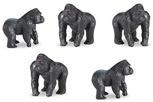 Safari Good Luck Minis - Gorilla (Set of 5)