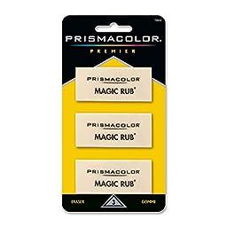 Prismacolor Premier Magic Rub Eraser, Pack of 12 (70503)