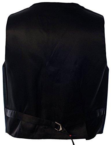 Boys Waistcoat, Silk Back Adjustable buckle Black Watch Tartan 2 year by iLuv (Image #1)
