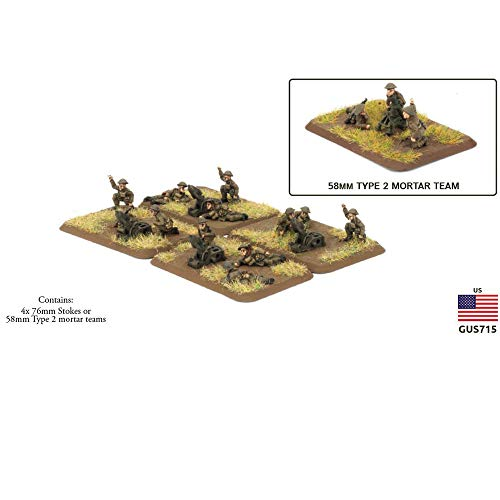 (Flames of War The Great War American Trench Mortar Platoon GUS715)