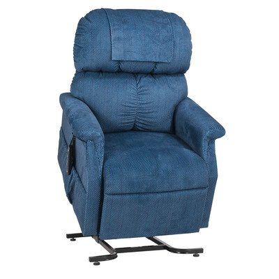 MaxiComfort Series Small Infinite Position Lift Chair with Head Pillow Fabric: Admiral ()