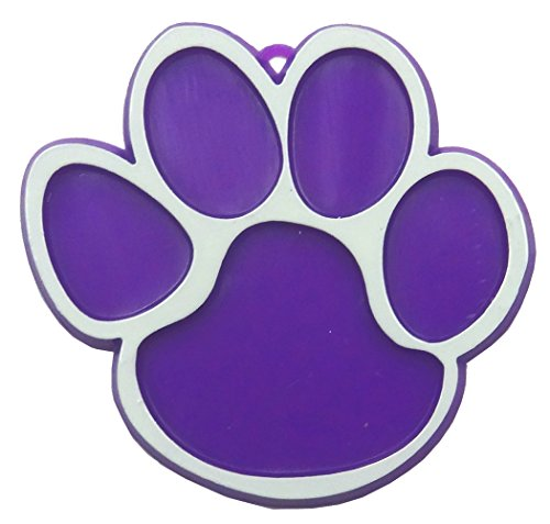 Paw Print Trinket - Purple 2pc