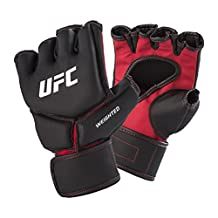 UFC 148700P-019250 Competition Grade Weighted Gloves, Small/Medium