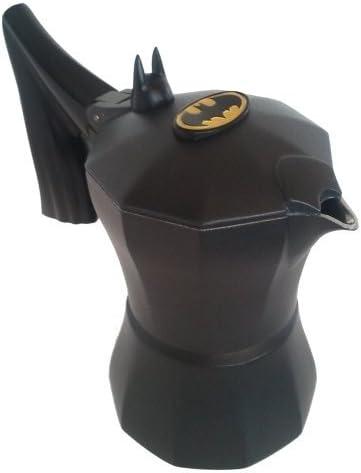 Cafetera italiana de aluminio inspirada en Batman / para 1 taza de ...