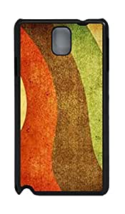 Fashion Style With Digital Art - Colorful Road Skid PC Back Cover Case for Samsung Galaxy Note 3 N9000