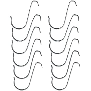 3 inch Exhibit / Conference Hook (Pack of 12 S-hooks)  sc 1 st  Amazon.com & Amazon.com: 3 inch Exhibit / Conference Hook (Pack of 12 S-hooks ...
