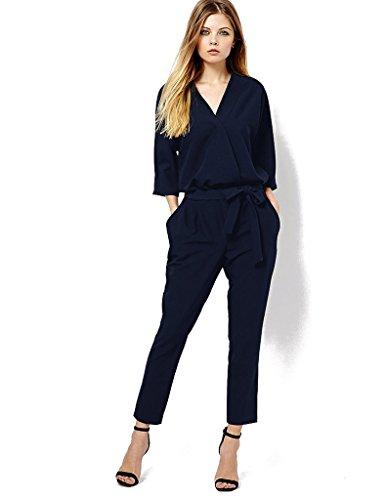 乙女区画慢なオールインワン シフォン 大きいサイズあり 半袖 パンツドレス パーティードレス ワンピース パンツスーツ サロペット 二次会 結婚式 パーティー ドレス サルエルパンツ XL