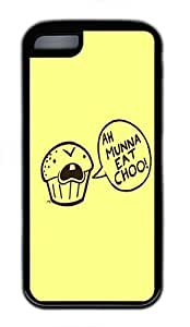 IMARTCASE iPhone 5C Case, Cannibal Cupcake Durable Case Cover for Apple iPhone 5C TPU Black