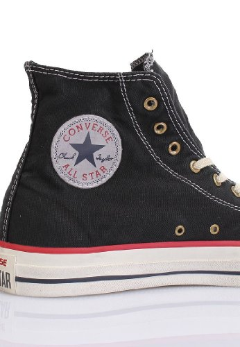 Converse Zapatillas Washed Negro EU 36
