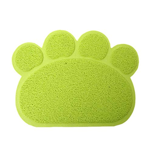 Sectional Sofa Asian (Krastal Pet Dog Placemat Puppy Cat Feeding Mat Pad Cute Paw PVC Bed Dish Bowl Food Water Feed Supplies)