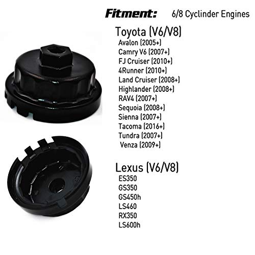 2007 toyota camry oil filter wrench