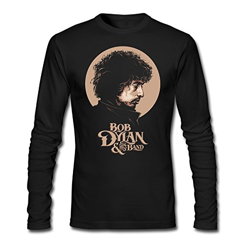 Tee Shirt Bob Dylan Nobel Prize Man Long Sleeve T-shirts