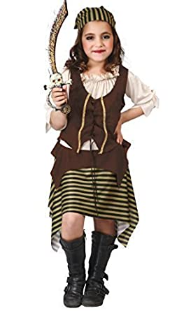Girls Historical Viking Halloween Carnival Fancy Dress Costume Outfit 5-12 years