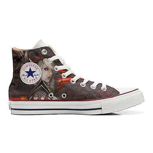 All Warrior Star Producto Converse Handmade Personalizados Woman Zapatos d5g077nwx