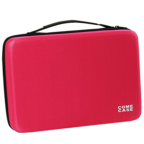 70 Essential Oils Carrying Case Holds 5ml 10ml 15ml Bottles with Hard Shell Exterior and Foam Insert Perfect for Travel (Rose Red) by Comecase (Image #9)
