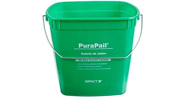 Impact Purapail Cleaning Bucket 6Qt Green 550614C