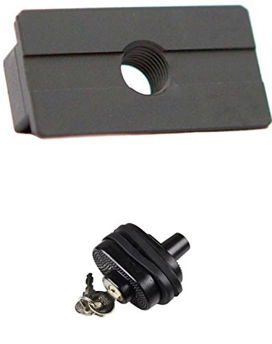 AmeriGlo UTSP111 Slide Shoe Adapter Shoe Plate for Beretta 92 Slides, use with UTSP1000 Base Tool + Ultimate Arms Gear Safety Trigger Lock