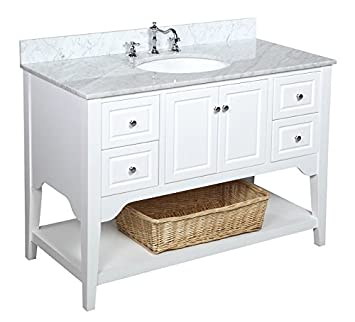 Kitchen Bath Collection KBC48TRA33WTCARR Washington Bathroom