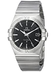 Omega Men's 123.10.35.60.01.001 Constellation 09 Black Dial Watch