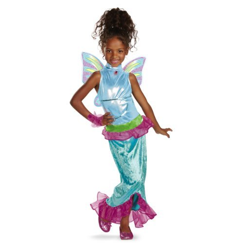 Winx Club Costumes - Disguise Girl's Winx Club Aisha Mermaid Classic Costume, 4-6X by Winx Club