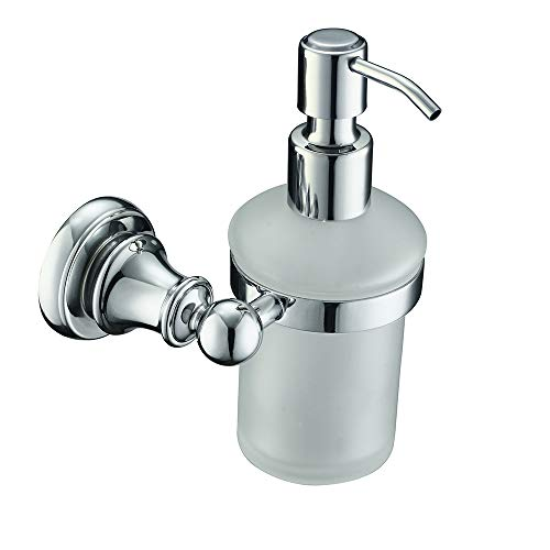 Comfort's Home N16510 Bathroom Wall Mount Lotion Dispensers, Chrome