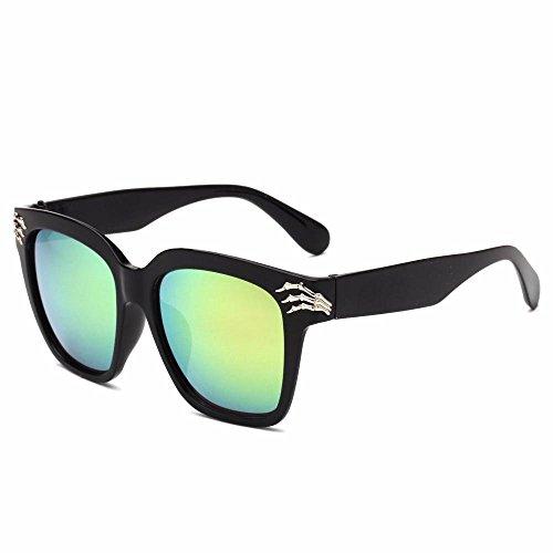 creativos Nuevas Gafas Tendencia Regalos cráneo Axiba Dama Gafas de Sol C Garra de Gafas Sol Retro Sol Hombre de Personalidad qvvxBUz