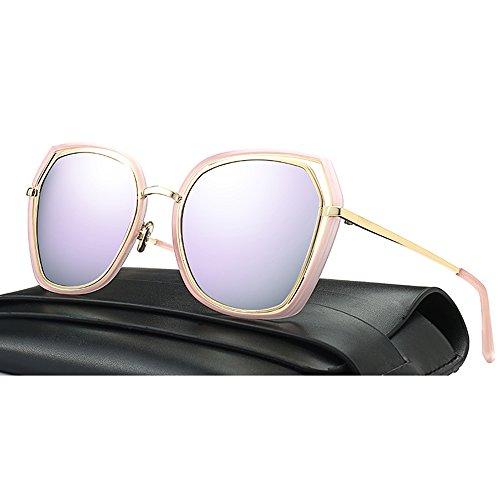 Metal ZHIRONG Frame Twin 06 Women Moda Cat Gafas Glasses de Espejo sol Beams Eye Color Classic 05 zRqn8fWU