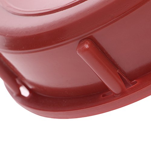 275-330 Gallon IBC Tote Tank Cover Lid Cap 163mm For Schutz Mauser (Red)