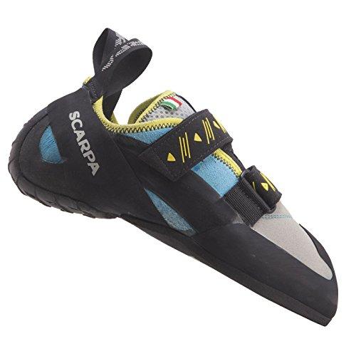 SCARPA Women's Vapor V Rock Climbing Shoes Turquoise - 39.5 by SCARPA