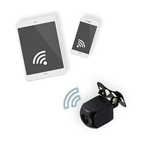 Beeper H2WIFI Telecamera Retromarcia, Senza Fili, Trasmissione Applicazione Mobile, Nero, M Ixit Beeper