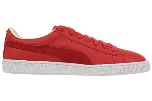 Puma Basket Classic UNISEX Sneaker black or red Rot