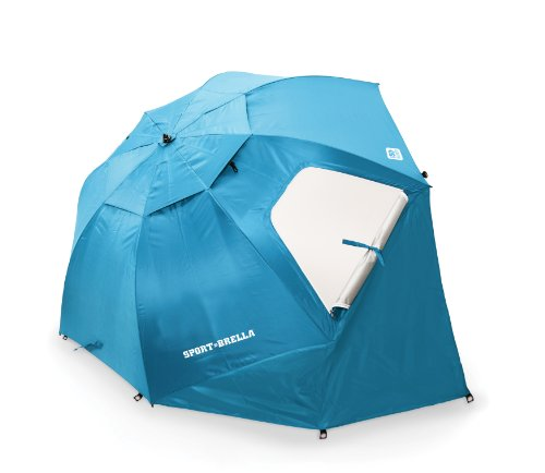 Sport-Brella Umbrella, Light Blue, Outdoor Stuffs