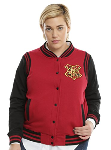 Harry Potter Gryffindor Girls Varsity Jacket Plus Size