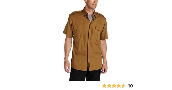 Propper Mens Short Sleeve Tactical Shirt XX-Large Regular Coyote