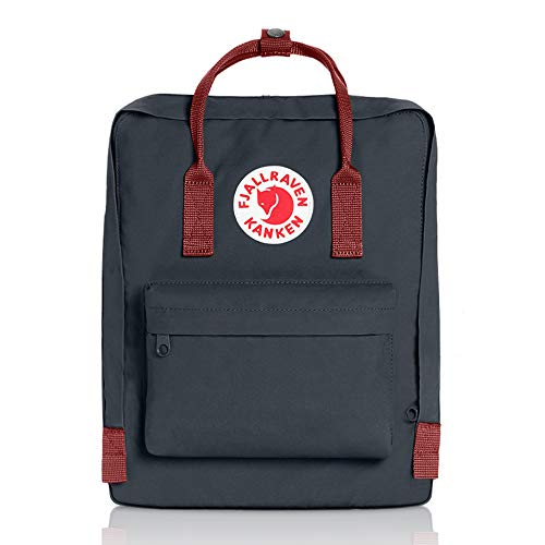 Fjallraven - Kanken Classic Pack, Heritage and Responsibility Since 1960, One Size,Black/Ox ()