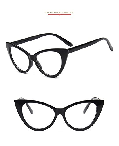 de ojo para Moda marca Vintage mujeres gafas las diseñador Cateye 2018 gato Gafas de technolog Gafas de qbling Claro espejo Nueva Pequeño de sol Yx4qFwza