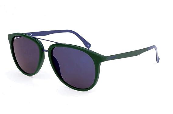 Lacoste L862S 315 56 Gafas de Sol, Matte Green, Unisex-niños ...