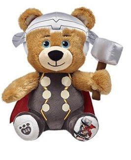 Build-A-Bear Marvel Mega Minis Thor Stuffed Plush Bear