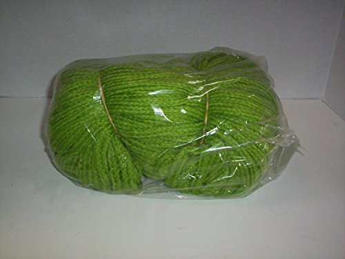 - 100 Yds 6mm Braided Macrame Cord - 1 Hank (Light Green)