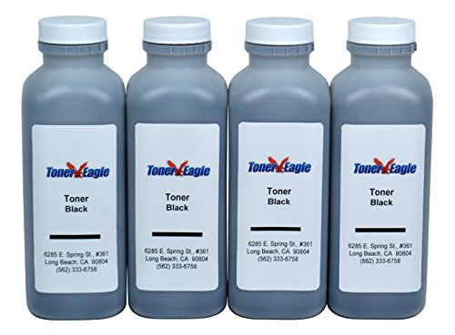 4-Toner Eagle Refill for Lexmark T420 T420d T420dn 12A7410 12A7315 12A7415. 40K Pages - T420dn Printer Laser