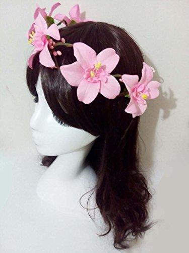 a3cf43bd1c3 Creative DIY Handmade Craft Beach Hawaii Flowers Twine Headband Woodland Crown  Bridal Head Wreath for Hippies Teens Girls Beautiful Women Wedding Headwear  ...